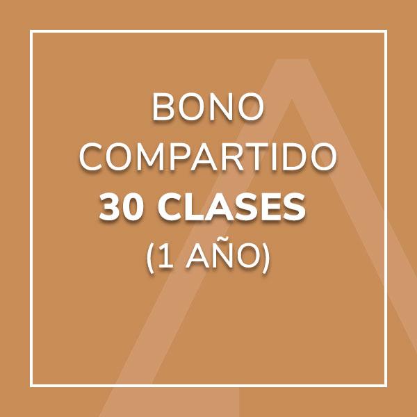 Bono Compartido 30 Clases (1 año)