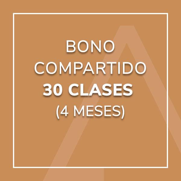 Bono Compartido 30 Clases (4 meses)