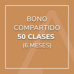 Bono Compartido 50 Clases (6 meses)